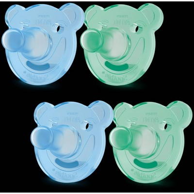 Philips Avent Soothie Shape Pacifier - Green - 4pk