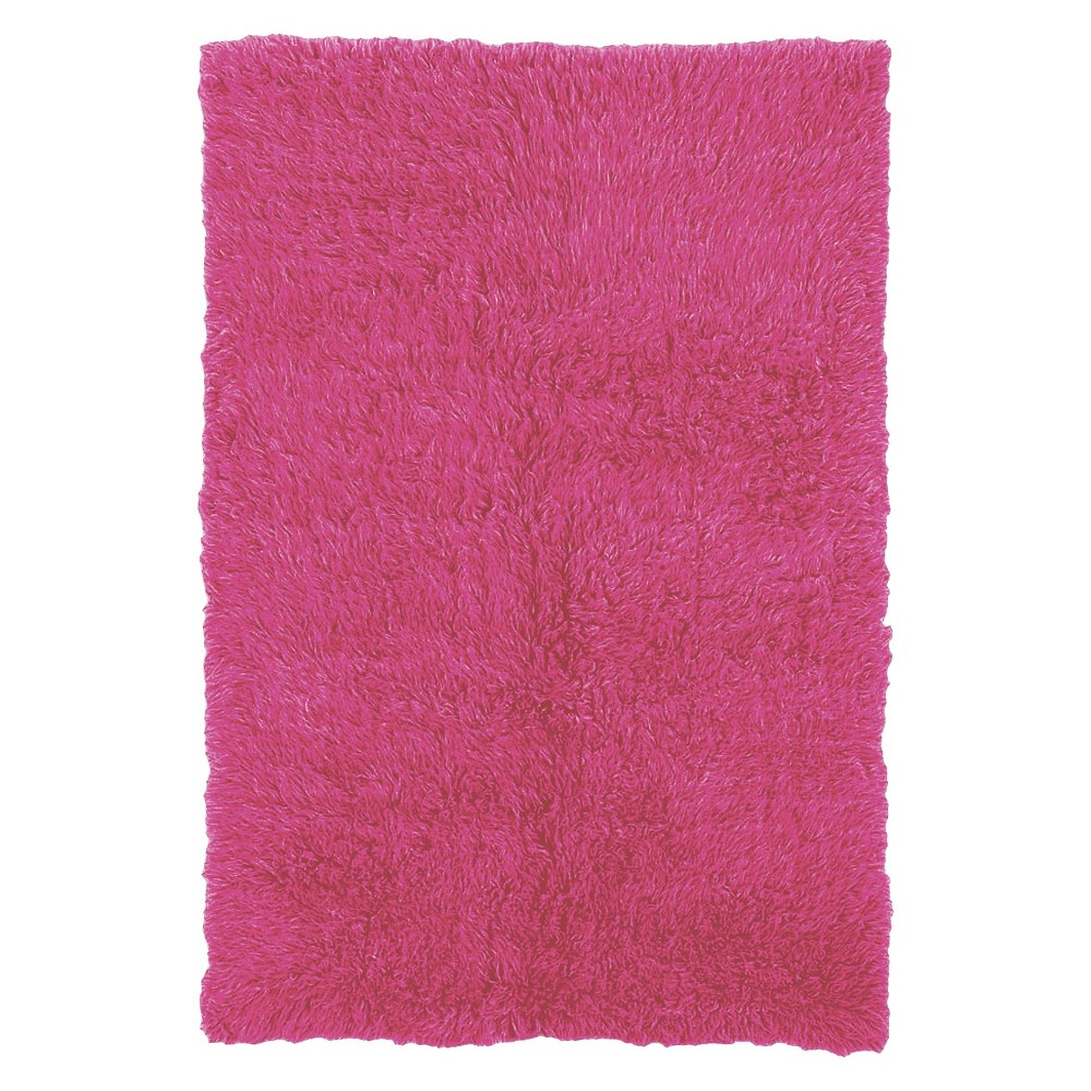 New Zealand Wool Flokati Accent Rug