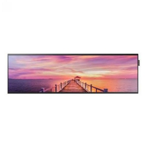 """Samsung SH37F - SHF Series 37"""" Commercial LED LCD Stretched Display - 16:4.5, 16 ms, 4000:1, 700 Nit, HDMI, DVI - image 1 of 1"""