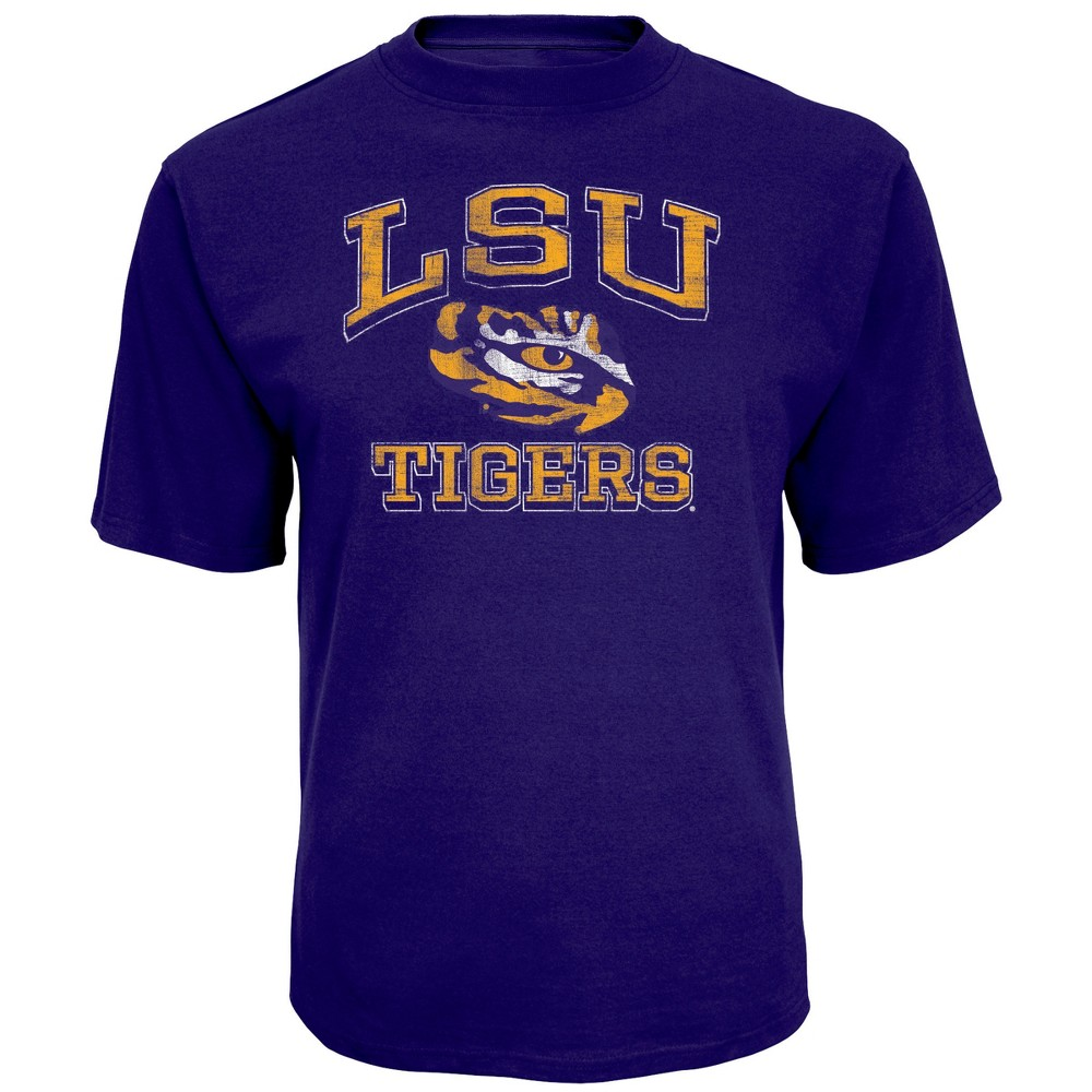 NCAA Men's Short Sleeve TC T-Shirt Lsu Tigers - Xxl, Multicolored