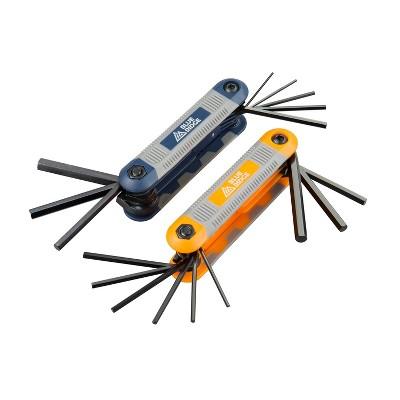 Blue Ridge Tools SAE & Metric Hex Wrench