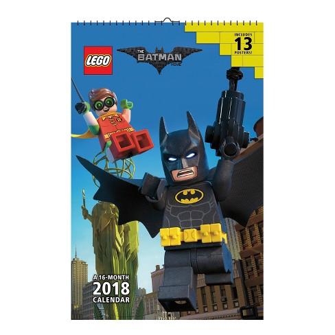 2018 The Lego Batman Movie Oversized Wall Calendar - Trends International - image 1 of 4