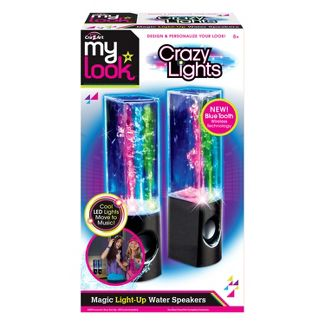 My Look Crazy Lights Magic Water Speakers by Cra-Z-Art - Colors May Vary