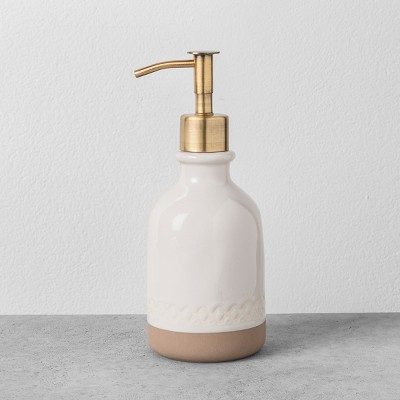 Soap Dispenser Cream - Hearth & Hand™ with Magnolia