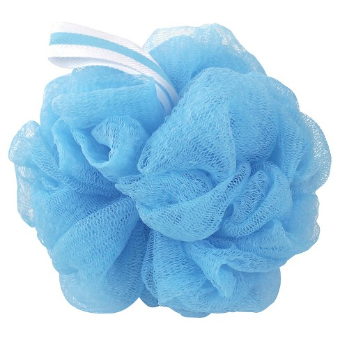 The Bathery Exfoliating Bath Sponge Blue Target