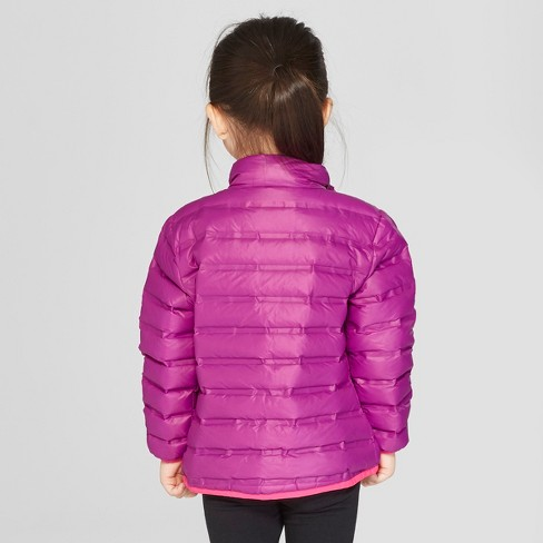 7a4ca945a624 Toddler Girls  Down Puffer Jacket - Cat   Jack™ Purple   Target