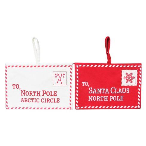 santa envelope gift bag assorted wondershop target