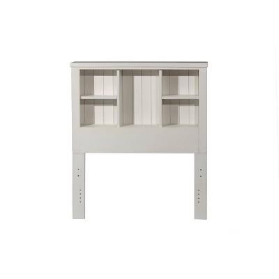 Kids' Twin Highlands Bookcase Headboard White - Hillsdale Furniture