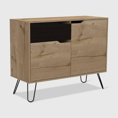 Aster Sideboard Cabinet Light Wood - RST Brands
