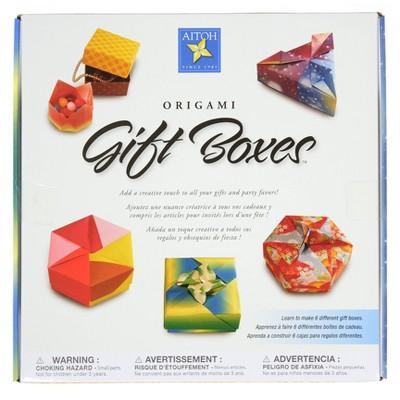 Origami Gift Boxes Kit - Aitoh