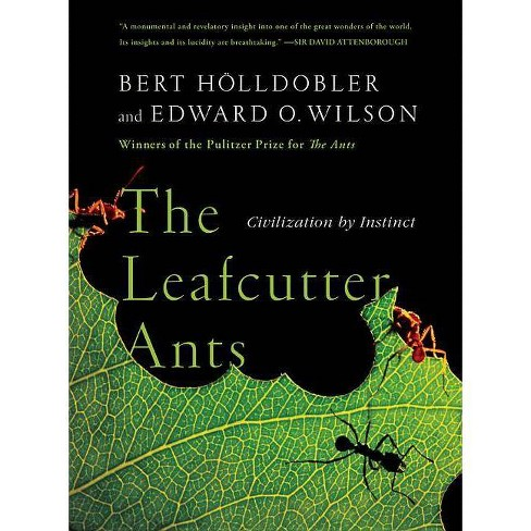 The Leafcutter Ants - by  Bert Holldobler & Edward O Wilson (Paperback) - image 1 of 1