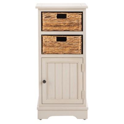Crabbe Storage Cabinet - Vintage Gray - Safavieh®