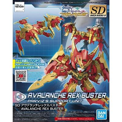 Bandai Spirits Gundam Build Divers SDBD Avalanche Rex Buster SD Model Kit