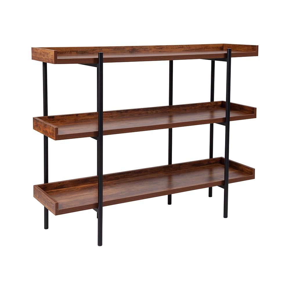 Mayfair Storage Shelf Brown - Riverstone Furniture Mayfair Storage Shelf Brown - Riverstone Furniture