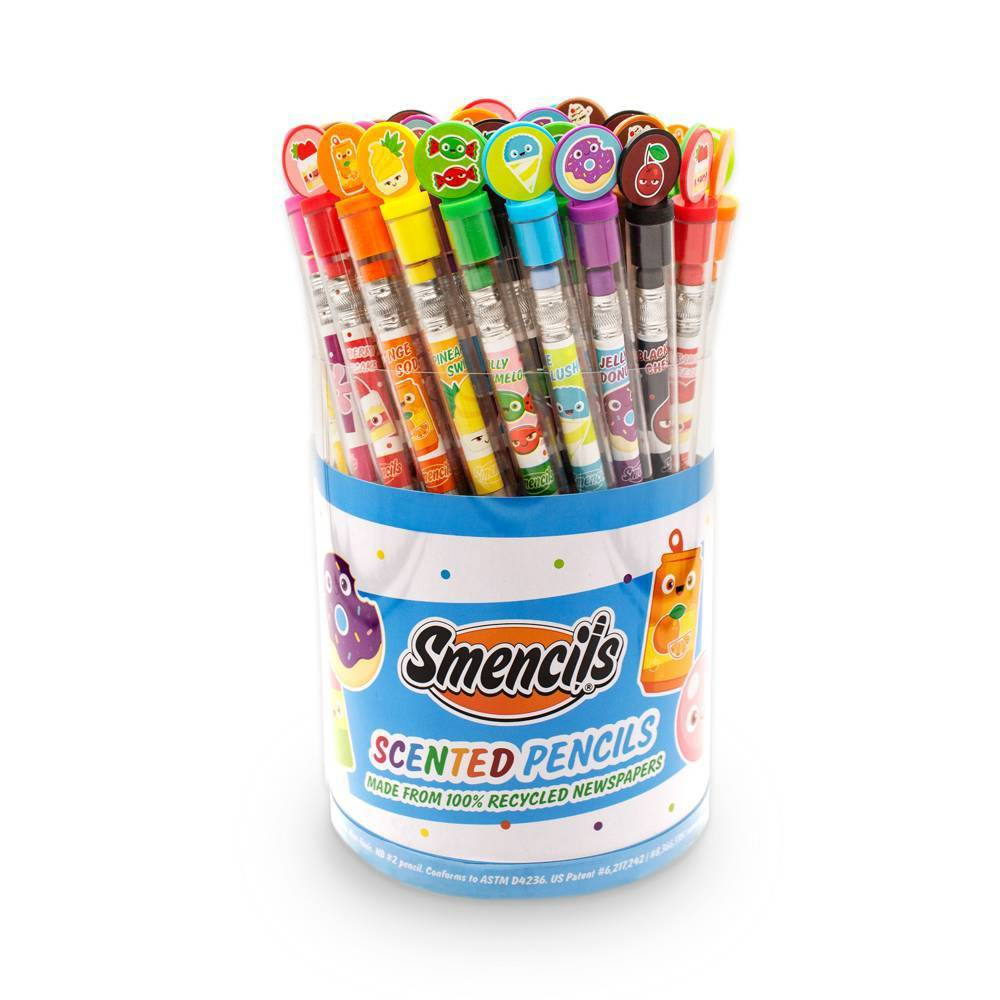 Image of Scentco Smencils Cylinder Scented #2 Pencils 50ct