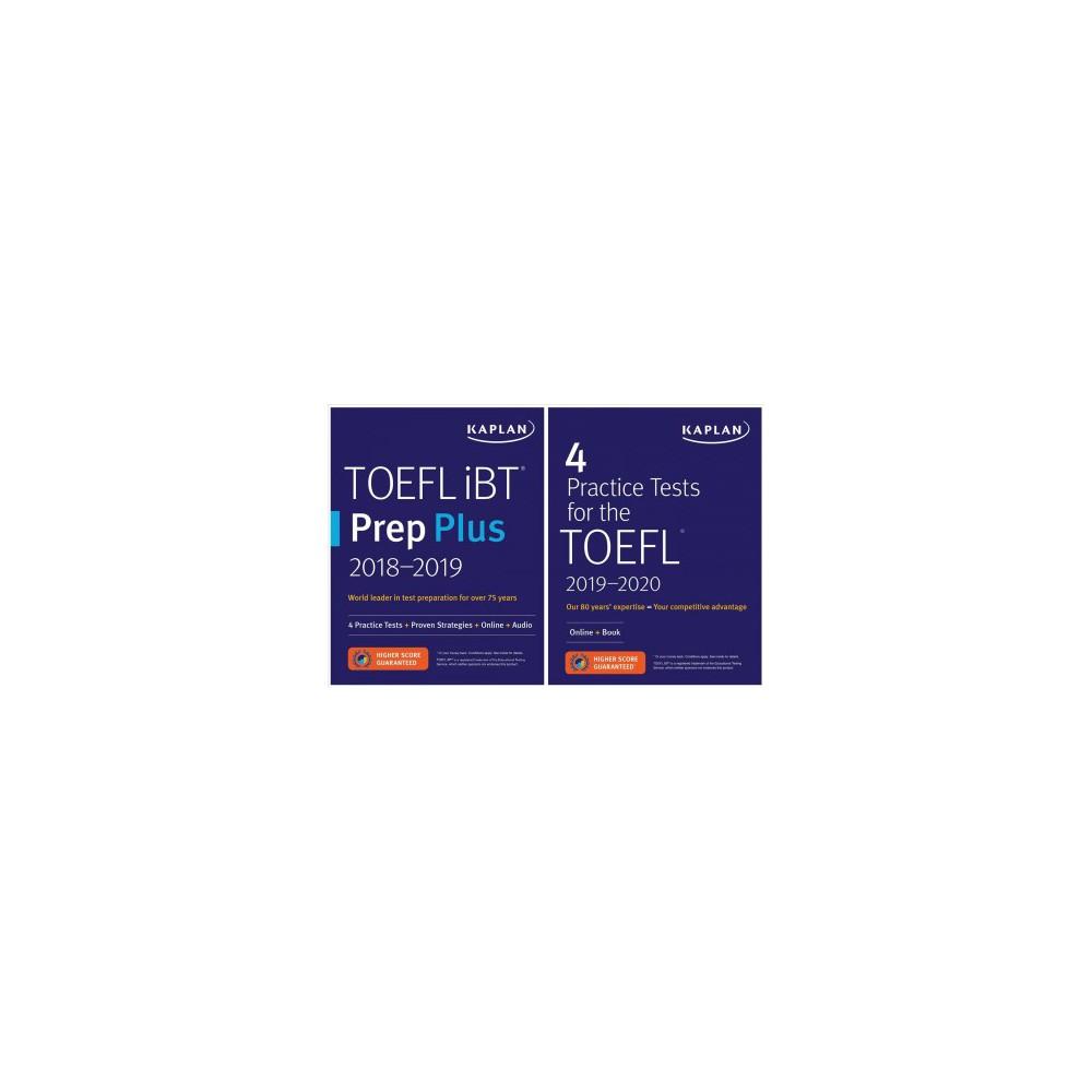 Toefl iBT Prep Plus 2018-2019 / 4 Practice Tests for the Toefl 2019-2020 - Pap/Psc (Paperback)