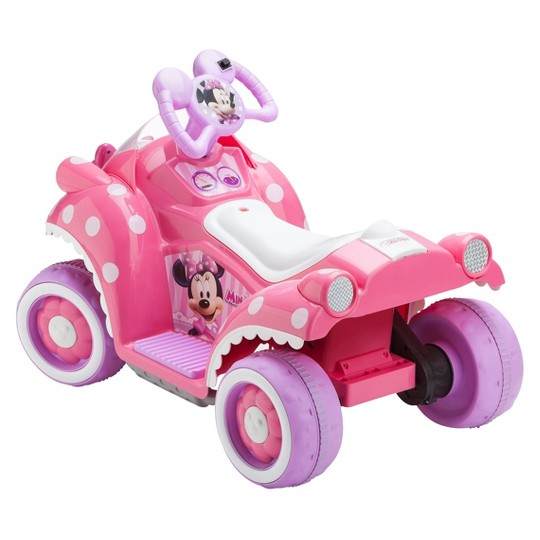 Kid Trax Disney Minnie Mouse 6V Quad Ride On image number null