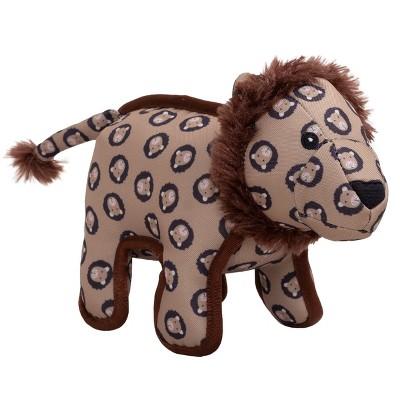 The Worthy Dog Tough Cecil Lion Dog Toy