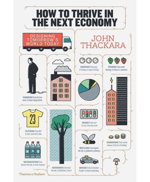 How to Thrive in the Next Economy : Designing Tomorrow's World Today (Hardcover) (John Thackara) - image 1 of 1