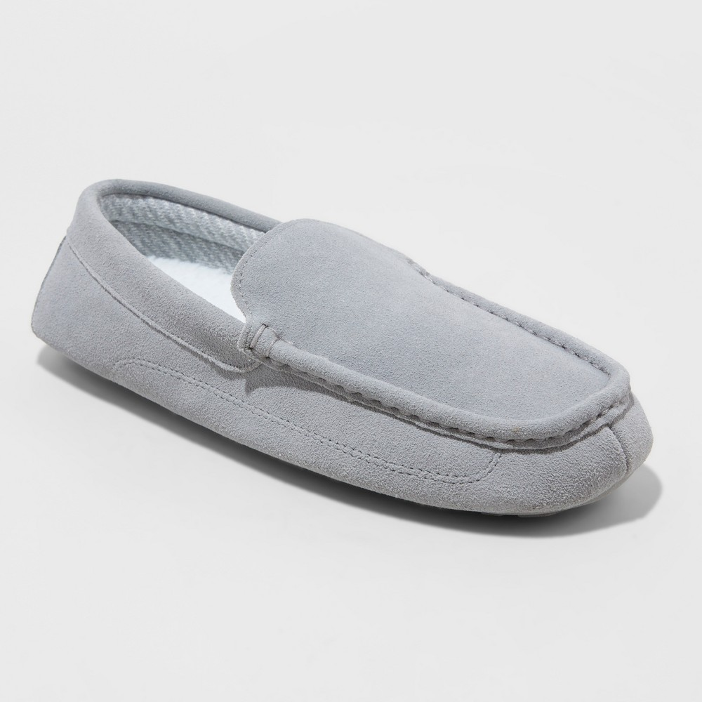 Men's Carlo Slippers - Goodfellow & Co Charcoal 9, Gray