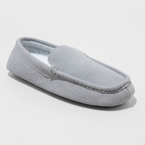 Men's Carlo Slippers - Goodfellow & Co™ Charcoal - image 1 of 4