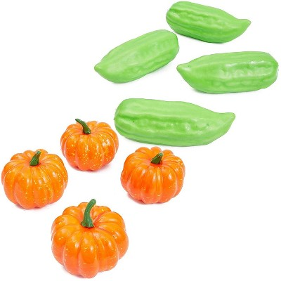 Juvale 24 Pack Artificial Fake Vegetables, Pretend Kitchen Play Food Set, Veggie Toys for Kids, Home Decoration, Photo Props