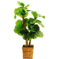 "Artificial Tree - Green - 38"" - LCG Florals"