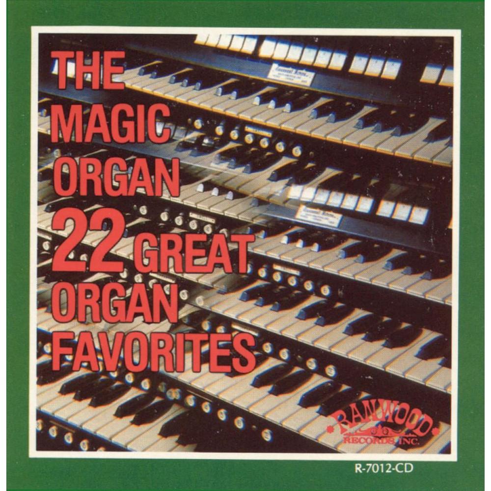 Magic organ - 22 great organ favorites (CD)