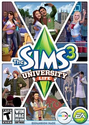 The Sims 3: University Life - PC Game Digital