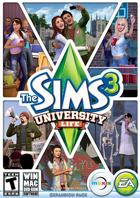 The Sims 3: University Life - PC/Mac Game Digital - image 1 of 1