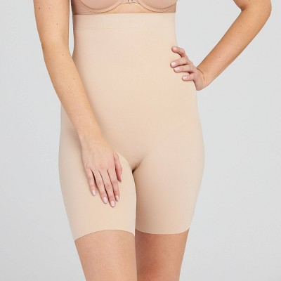 Assets by Spanx Women's Thintuition High-Waist Shaping Thigh Slimmer