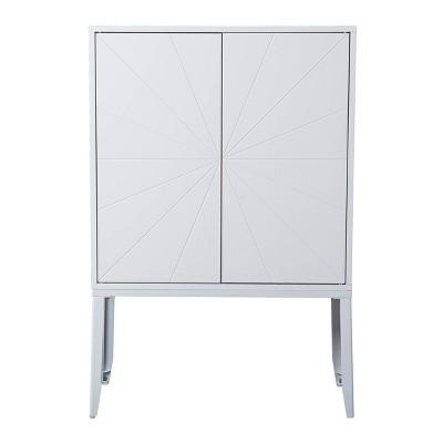 Hurstvey Double Door Storage Cabinet - Aiden Lane