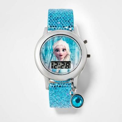 Girls' Disney Frozen Elsa Watch - Blue