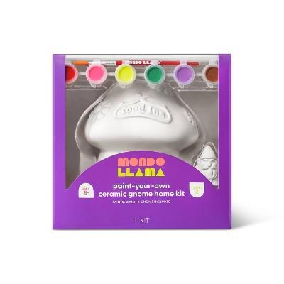 Paint-Your-Own Ceramic Gnome Home Kit - Mondo Llama™