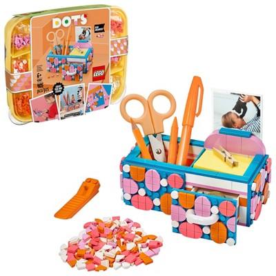 LEGO DOTS Desk Organizer DIY Craft Decorations Kit Gift for Kids 41907