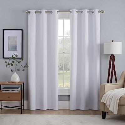 Set of 2 Kylie Absolute Zero Blackout Curtain Panels - Eclipse