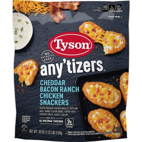Tyson Anytizers Cheddar Bacon Ranch Snackers - 18oz - image 1 of 3