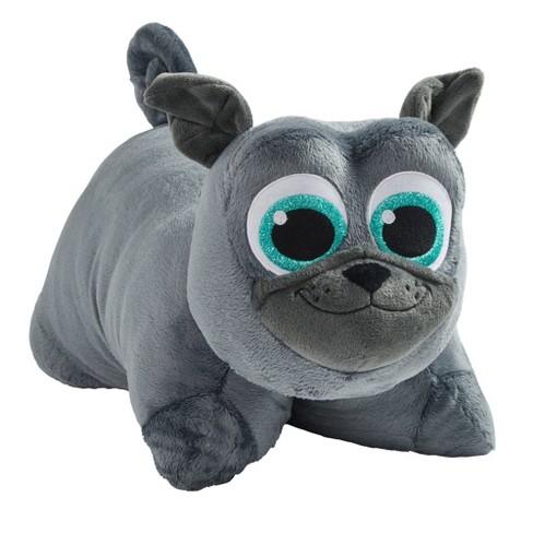 "Disney Junior Puppy Dog Pals Bingo 16"" Pillow Pet Gray - image 1 of 3"