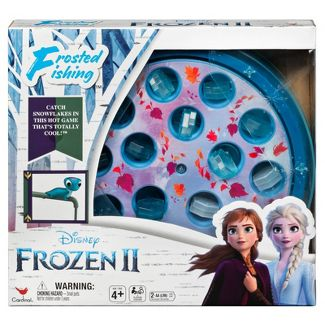 Disney Frozen 2 Frosted Fishing Board Game