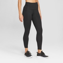 "Women's Studio High-Waisted Leggings 25"" - C9 Champion® Black"