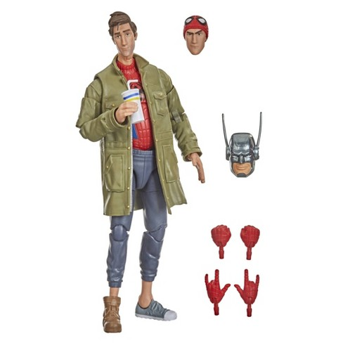 Hasbro Marvel Legends Series Spider-Man: Into the Spider-Verse Peter B. Parker - image 1 of 4