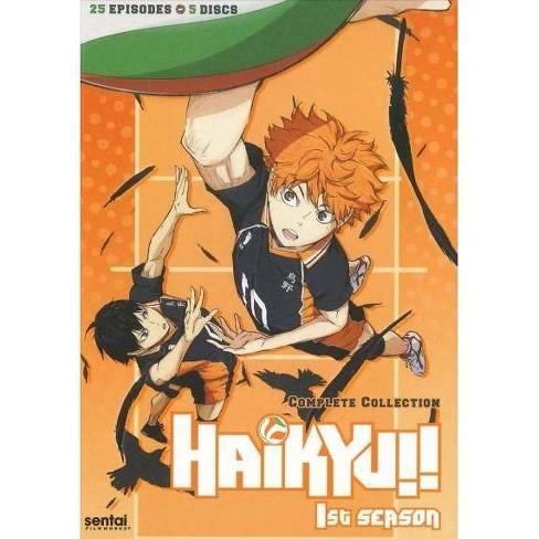 HAIKYU-SEASON 1 (DVD/5 DISC) - image 1 of 1