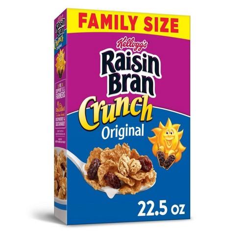 Raisin Bran Crunch Original Breakfast Cereal - 22.5oz - Kellogg's - image 1 of 4