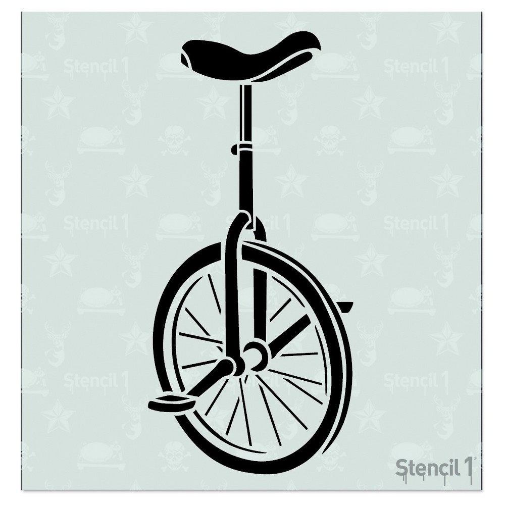 Stencil1 Unicycle - Stencil 5.75
