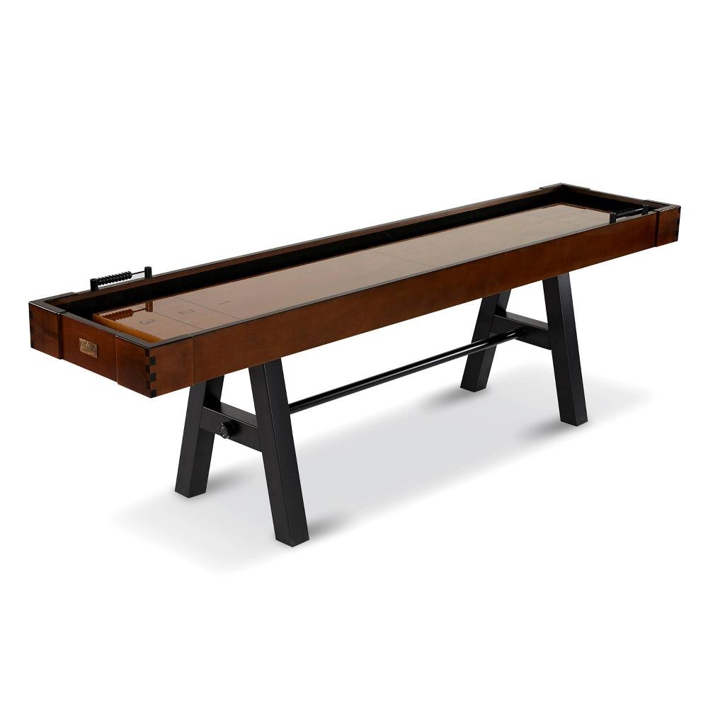 Barrington 9ft Allendale Arcade Shuffleboard Table Brown Tan