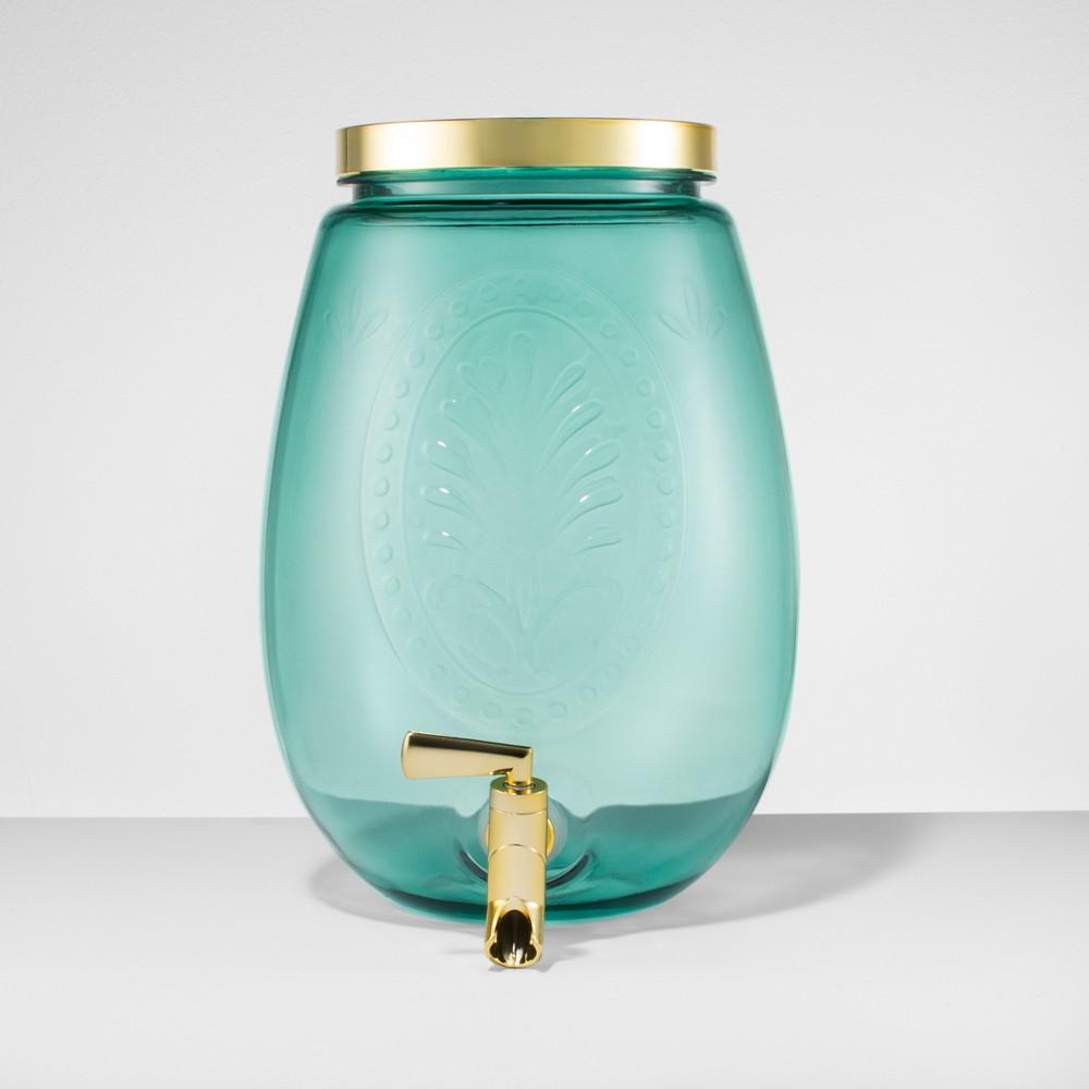 Plastic Beverage Dispenser 6.9L Green - Opalhouse