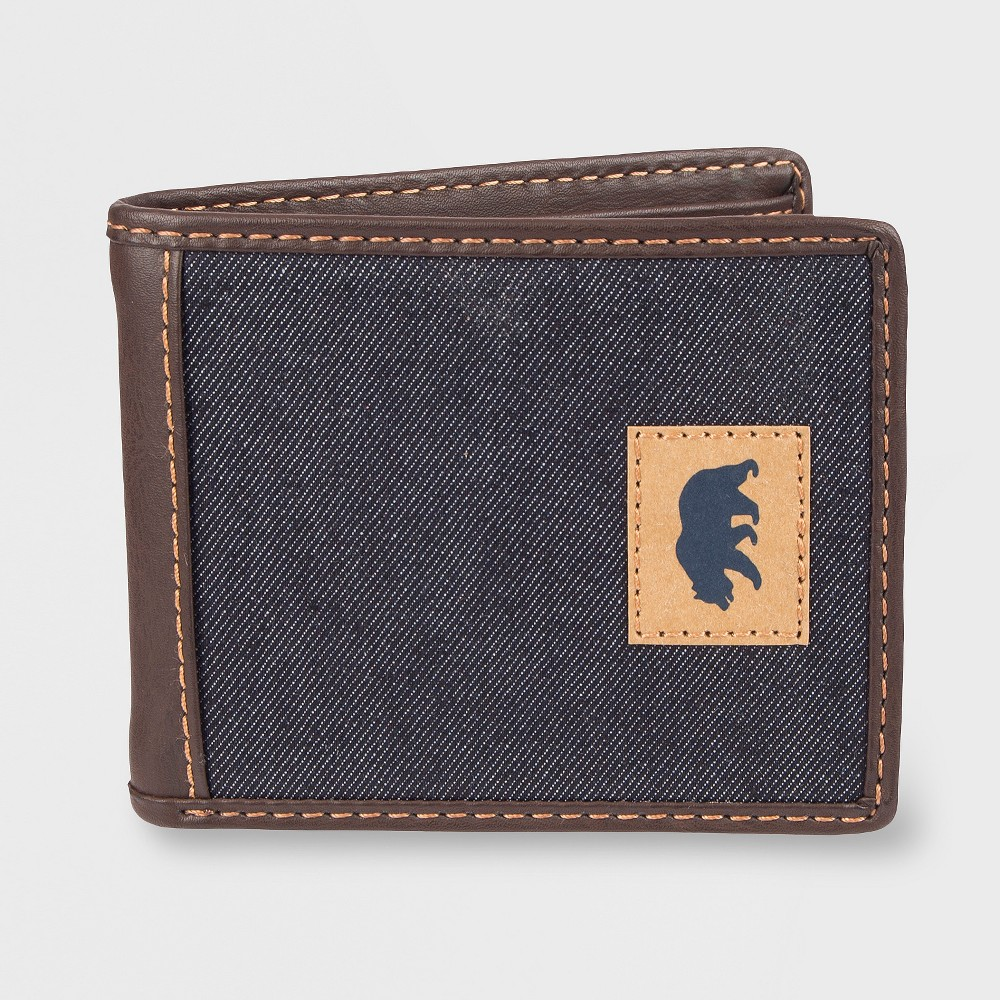 Denizen from Levi's Men's Slim Fold Wallet - Navy (Blue) One Size