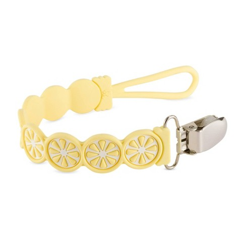 BooginHead PaciGrip Silicone Citrus - Lemon - image 1 of 4