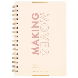"2020 Planner 6.5""x 8.5"" Making Moves - Create & Cultivate"