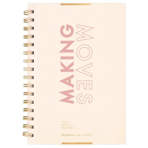 """2020 Planner 6.5""""x 8.5"""" Making Moves - Create & Cultivate - image 1 of 4"""